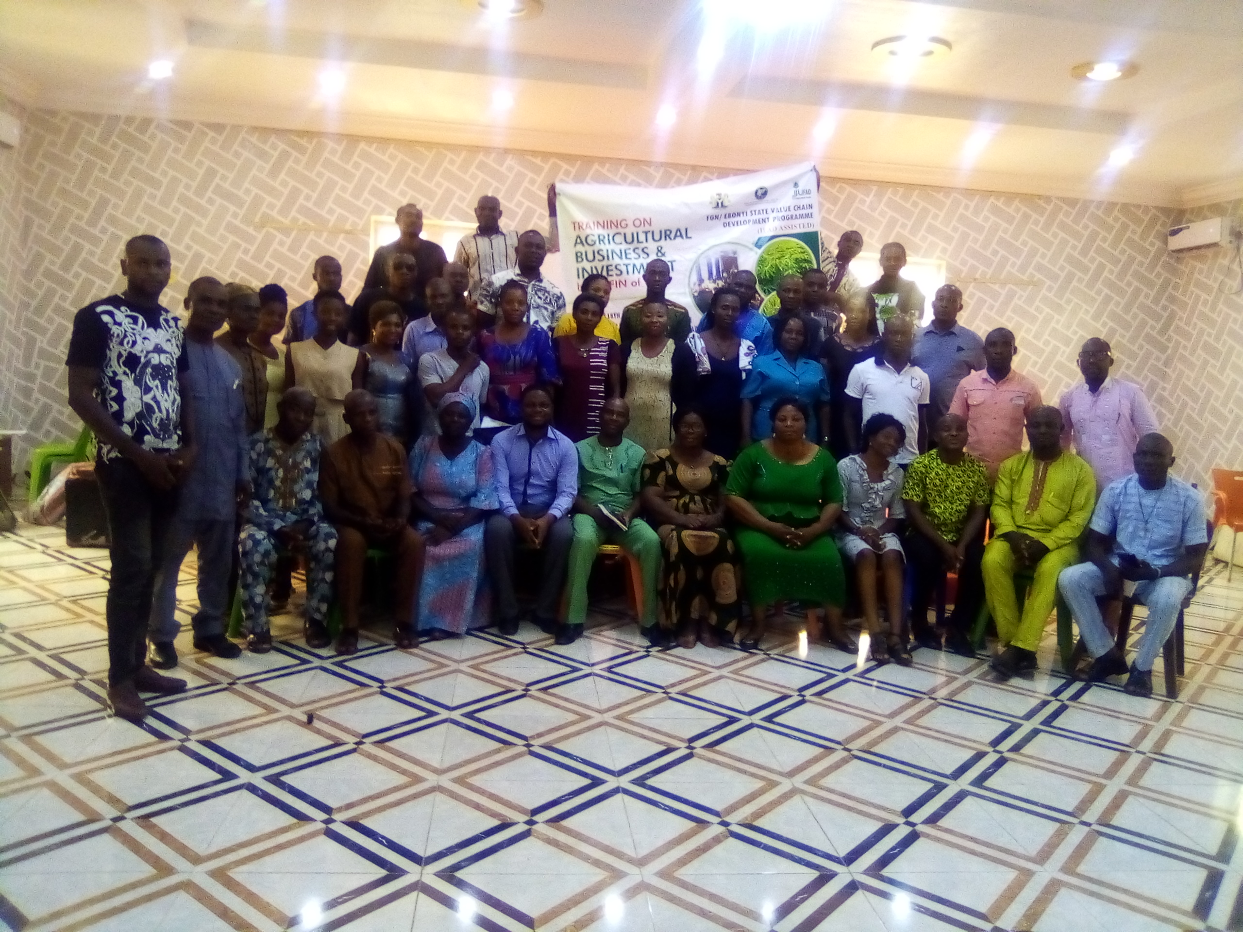 A-TWO-DAY TRAINING OF TRAINERS (TOT) REPORT ON FARMERS' FINANCIAL LITERACY